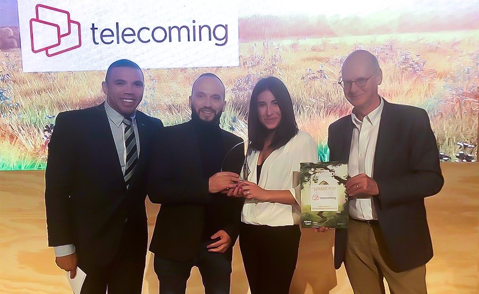 Telecoming wins Best Digital Entertainment Innovation Award at AfricaCom 2019